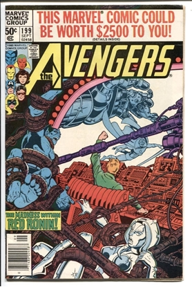 Picture of AVENGERS (1963) #199 6.0 FN