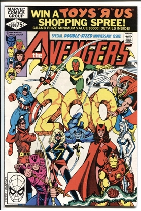 Picture of AVENGERS (1963) #200 9.2 NM-