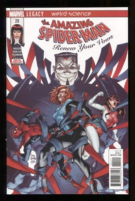 Picture of AMAZING SPIDER-MAN RENEW YOUR VOWS #20 LEG NM