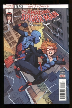 Picture of AMAZING SPIDER-MAN RENEW YOUR VOWS #21 LEG NM