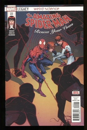 Picture of AMAZING SPIDER-MAN RENEW YOUR VOWS #22 LEG NM