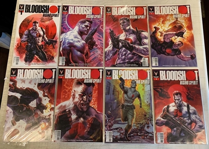 Picture of BLOODSHOT RISING SPIRIT (2018) #1-8 CVR A SET NM