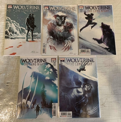 Picture of WOLVERINE LONG NIGHT ADAPTATION (2018) #1-5 1ST PRINT SET NM