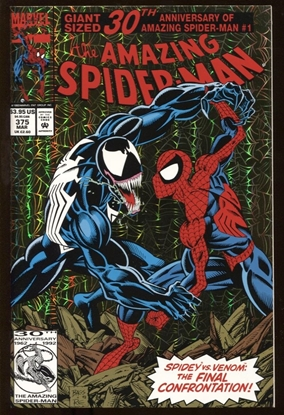 Picture of AMAZING SPIDER-MAN #375 9.6 NM+