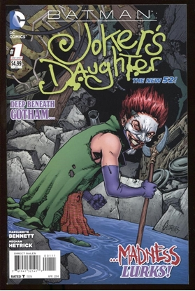 Picture of BATMAN: JOKER'S DAUGHTER #1 9.6 NM+