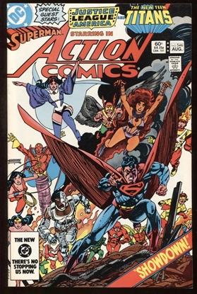 Picture of ACTION COMICS #546 9.0 VF/NM