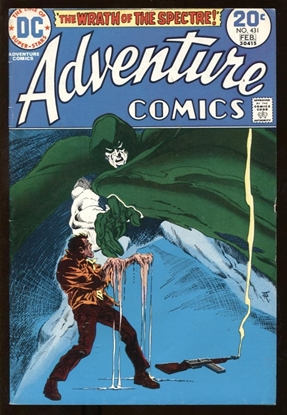 Picture of ADVENTURE COMICS (1938) #431 7.0 FN/VF