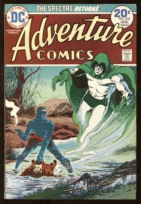Picture of ADVENTURE COMICS (1938) #432 7.5 VF-