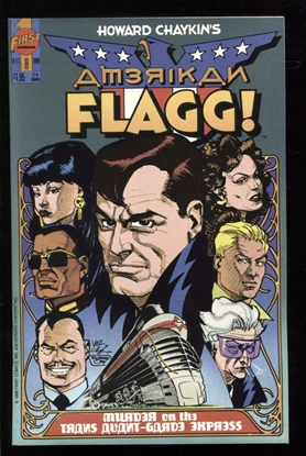 Picture of AMERICAN FLAGG! (1988) #8 9.4 NM