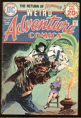 Picture of WEIRD ADVENTURE COMICS (1938) #435 2.0 GD
