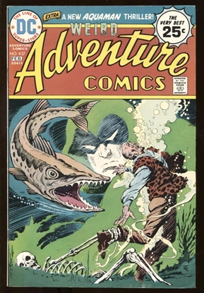 Picture of WEIRD ADVENTURE COMICS (1938) #437 8.0 VF
