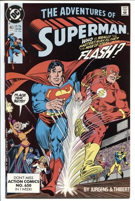 Picture of ADVENTURES OF SUPERMAN #463 9.2 NM-