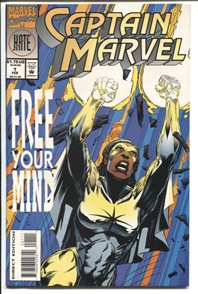 Picture of CAPTAIN MARVEL VOL. 2 #1 1994 9.6 NM+