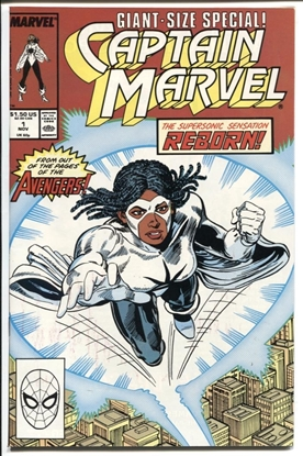Picture of CAPTAIN MARVEL #1 1989 9.4 NM