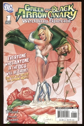 Picture of GREEN ARROW AND BLACK CANARY WEDDING SPECIAL #1 9.6 NM+