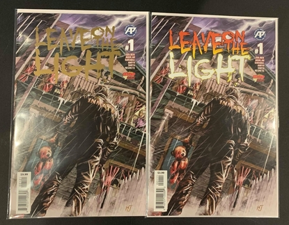 Picture of LEAVE ON THE LIGHT (2019) #1 MAIN & FOIL CVR SET NM