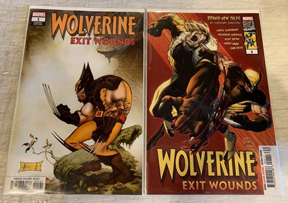 Picture of WOLVERINE EXIT WOUNDS (2019) #1 1ST PRINT & SAM KIETH VAR CVR SET NM
