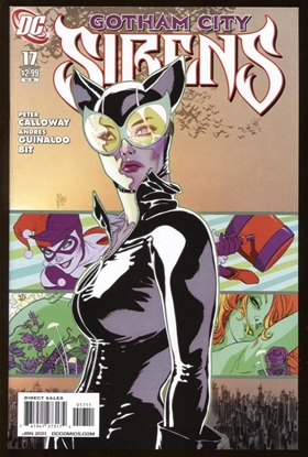 Picture of BATMAN GOTHAM CITY SIRENS (2009) #17 9.4 NM