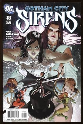Picture of BATMAN GOTHAM CITY SIRENS (2009) #18 9.6 NM+
