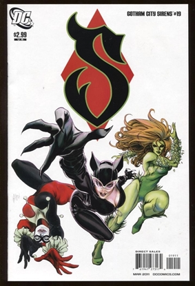 Picture of BATMAN GOTHAM CITY SIRENS (2009) #19 9.4 NM