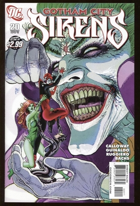 Picture of BATMAN GOTHAM CITY SIRENS (2009) #20 9.6 NM+