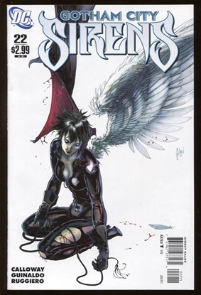 Picture of BATMAN GOTHAM CITY SIRENS (2009) #22 9.4 NM
