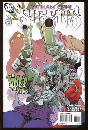 Picture of BATMAN GOTHAM CITY SIRENS (2009) #24 9.4 NM