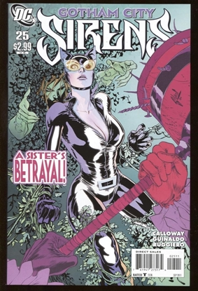 Picture of BATMAN GOTHAM CITY SIRENS (2009) #25 9.4 NM