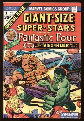 Picture of GIANT-SIZE SUPER-STARS (1974) #1 7.0 FN/VF