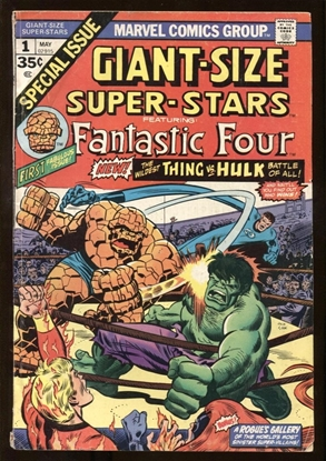Picture of GIANT-SIZE SUPER-STARS (1974) #1 4.5 VG+
