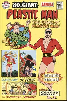 Picture of PLASTIC MAN LOST ANNUAL #1 2003 NM