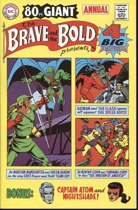 Picture of BRAVE & THE BOLD 80-PAGE LOST ANNUAL 2001 NM