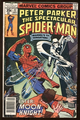 Picture of SPECTACULAR SPIDER-MAN (1976) #22 6.5 FN+
