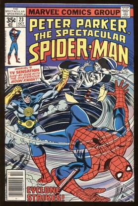Picture of SPECTACULAR SPIDER-MAN (1976) #23 6.5 FN+
