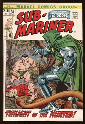Picture of SUB-MARINER (1968) #48 7.5 VF-