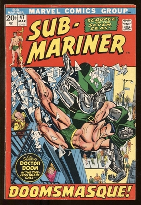 Picture of SUB-MARINER (1968) #47 VF- & #48 FN