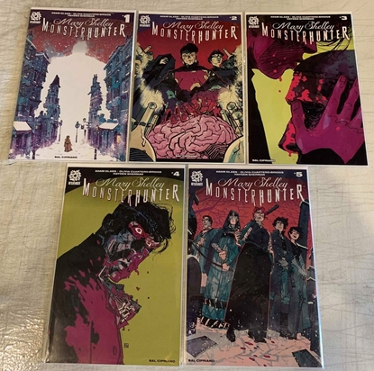 Picture of MARY SHELLEY MONSTER HUNTER (2019) #1-5 1ST PRINT SET NM