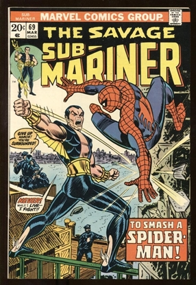 Picture of SUB-MARINER (1968) #69 9.0 VF/NM