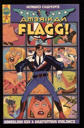 Picture of AMERICAN FLAGG! (1988) #9 9.4 NM