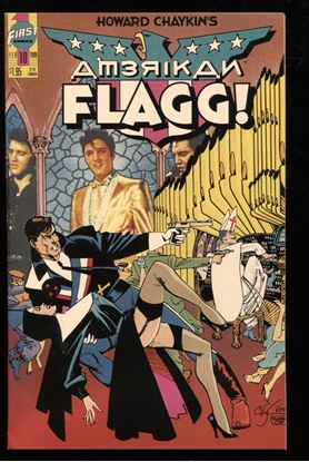 Picture of AMERICAN FLAGG! (1988) #10 9.4 NM
