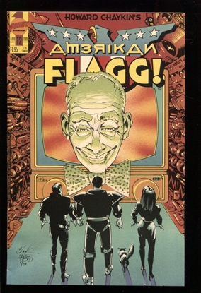 Picture of AMERICAN FLAGG! (1988) #12 9.4 NM