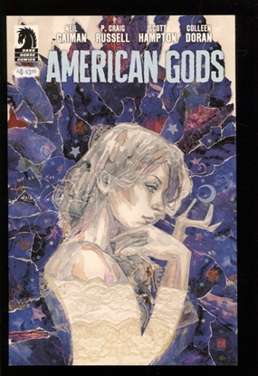 Picture of NEIL GAIMAN AMERICAN GODS SHADOWS #4 MACK VAR (MR) NM