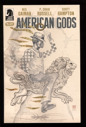 Picture of NEIL GAIMAN AMERICAN GODS SHADOWS #5 MACK VAR (MR) NM