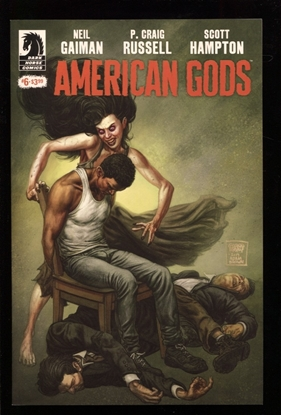 Picture of NEIL GAIMAN AMERICAN GODS SHADOWS #6 (MR) NM