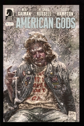 Picture of NEIL GAIMAN AMERICAN GODS SHADOWS #9 (MR) NM