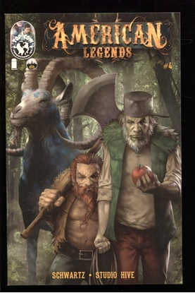 Picture of AMERICAN LEGENDS #4 (OF 5) NM