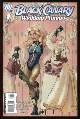 Picture of BLACK CANARY WEDDING PLANNER #1 ONE-SHOT 9.6 NM+