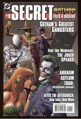Picture of SECRET FILES & ORIGINS: BATMAN VILLAINS #1 1998 9.6 NM+