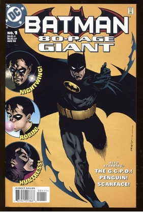 Picture of BATMAN 80-PAGE GIANT #1-2 SET