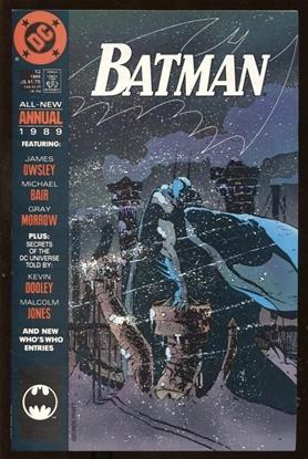 Picture of BATMAN ANNUAL #13 9.4 NM